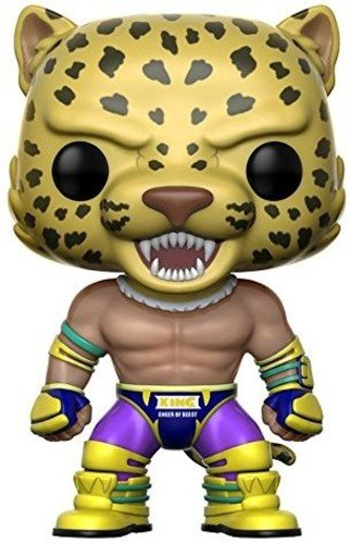 Funko Pop Games Tekken Jin Action Figure Siseneo