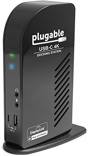 Plugable USB-C Docking Station for Specific Windows, MacBook