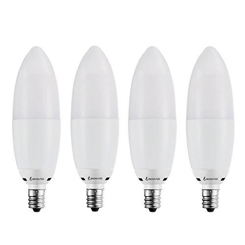 Led Candelabra Bulb: Bogao LED Candelabra Bulb, 12W Warm White 3000K LED Candle
