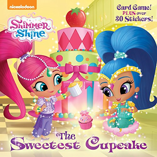 The Sweetest Cupcake Shimmer And Shine PicturebackR