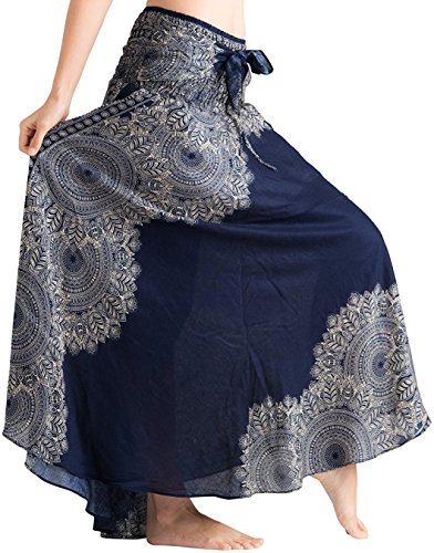 6ce530ed9b8c vvProud Women's Long Hippie Bohemian Skirt Gypsy Dress Boho Clothes with  Flowers | One Size Fits Asymmetric Hem Design. P>our quality promise: this  bohemian ...