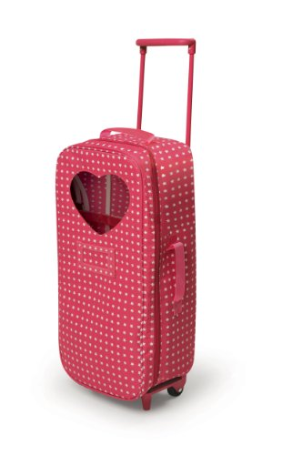 2a03e2eb94 For all brands of 18 inch dolls. Doll carrier with wheeled trolley. Fits 18  inch dolls such as american girl ...